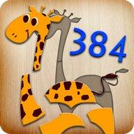 384 Puzzles untuk kanak-kanak