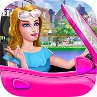 Fashion Car Salon - Girls Game