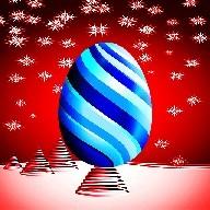 Christmas Kids Toy Egg