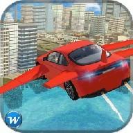 Flying Car Flight Pilot Sim 3D