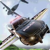 Prison Break Flying Police Car