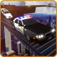 Impossible Track Police Car