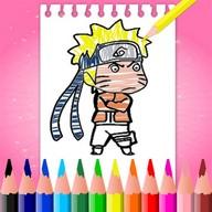 Naruto Anime Coloring Book