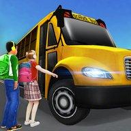 Super High School Bus Driving Simulator 3D