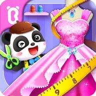 Juego para vestirse a la moda del Panda bebé