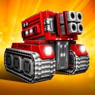 Blocky Cars - czołg gry, tank wars