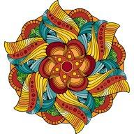 Büyülü Mandala Boyama Kitabı
