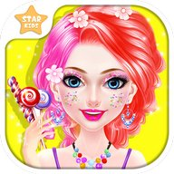 Sweet Candy Makeup Salon: Beauty Salon Makeover