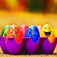 Tamago Easter Egg Pou 2