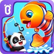 Bébé Panda: Pêche