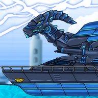 Dino Robot - Ninja Parasau : Dinosaur game