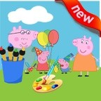 Peppa Pig Coloring Book for Kids