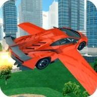 Race Car Flying 3D