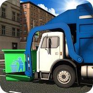 Jalan Sampah Membuang Truk Sop