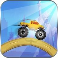 Monster Truck Race Adventure: Truck Hill Climb