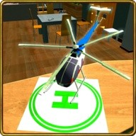 RC Free Flight Helicopter Sim