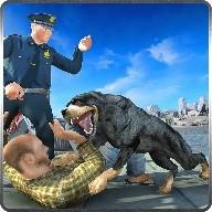 Rottweiler Police Dog Life Sim