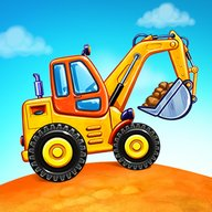 Truck games for kids - build a house, car wash