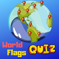 Guess world flags quiz