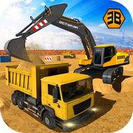 excavator berat pembinaan kren-bandar sim