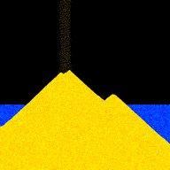 sand:box - kotak pasir partikel santai