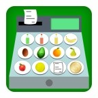 food store cash register