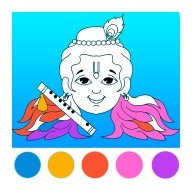Gopi Krishna Coloring Pages - Radha Krishna Games