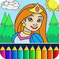 Princess Coloring Game