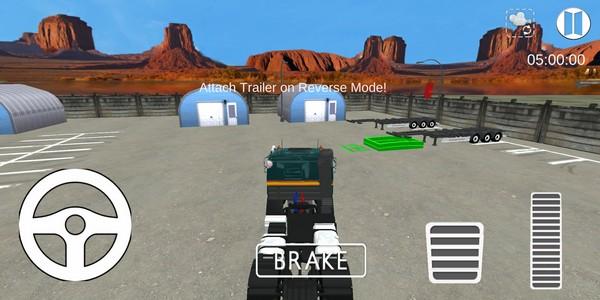 pasir penggali trak memandu menyelamat simulato