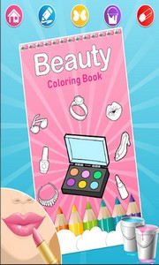 Fashion Makeup Coloring Pages Android