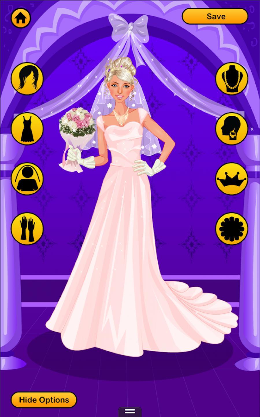 New fashion wedding dress up games 6