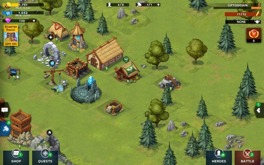 StormBorn: War of Legends RPG
