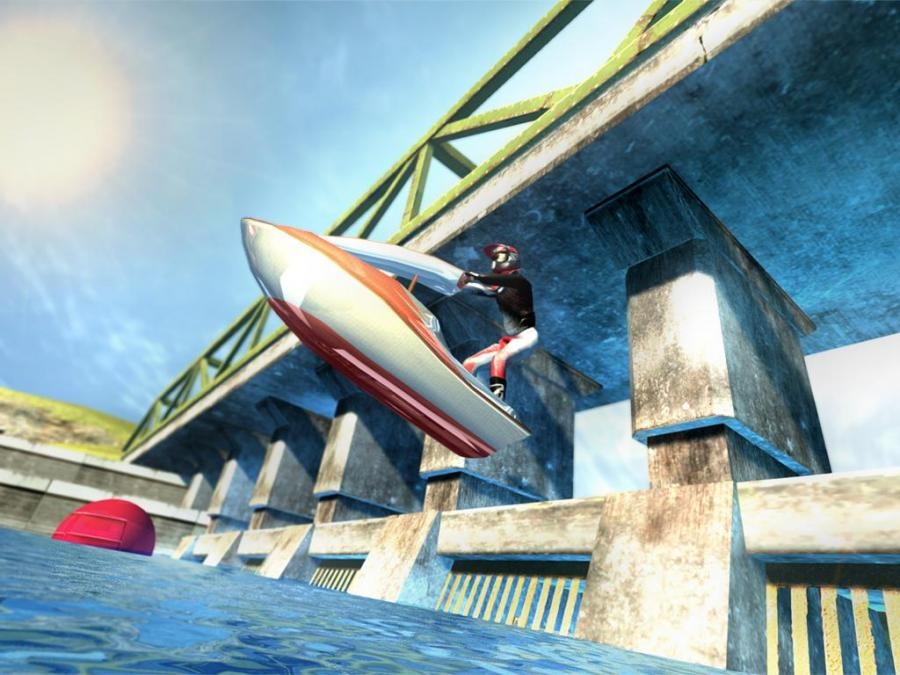 Turbo Jet Ski River Rider 3D