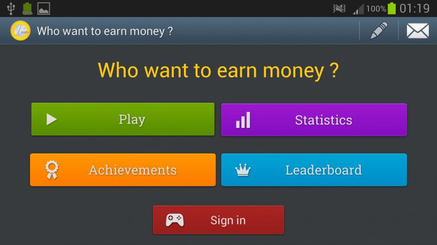 Who want to earn money ?