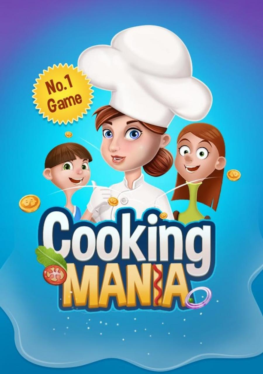 Cooking Happy Mania - Chef Kitchen Game for Kids