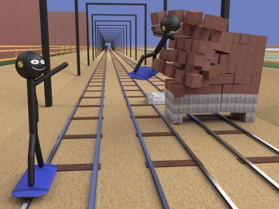 Stickman Subway Surfers 3D