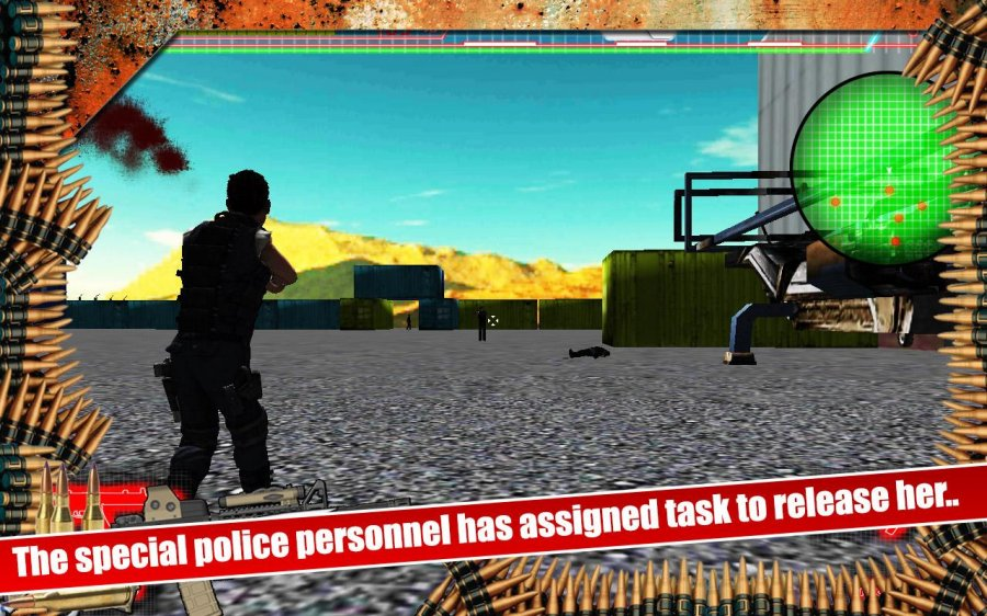 Gunner Cop Vs Gangstar City