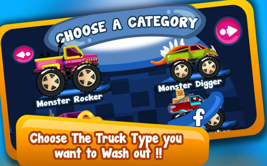 Monster Truck Wash - Dağınık