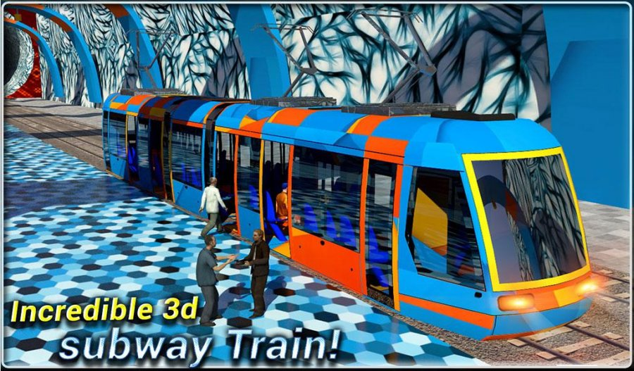 Subway Train Driving Simulator