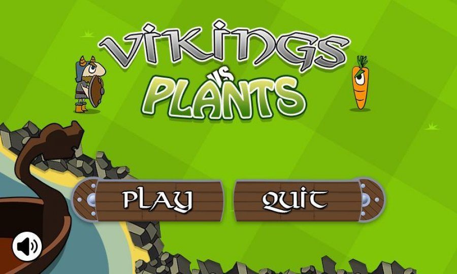 Tower Defense Vikings vs Plants