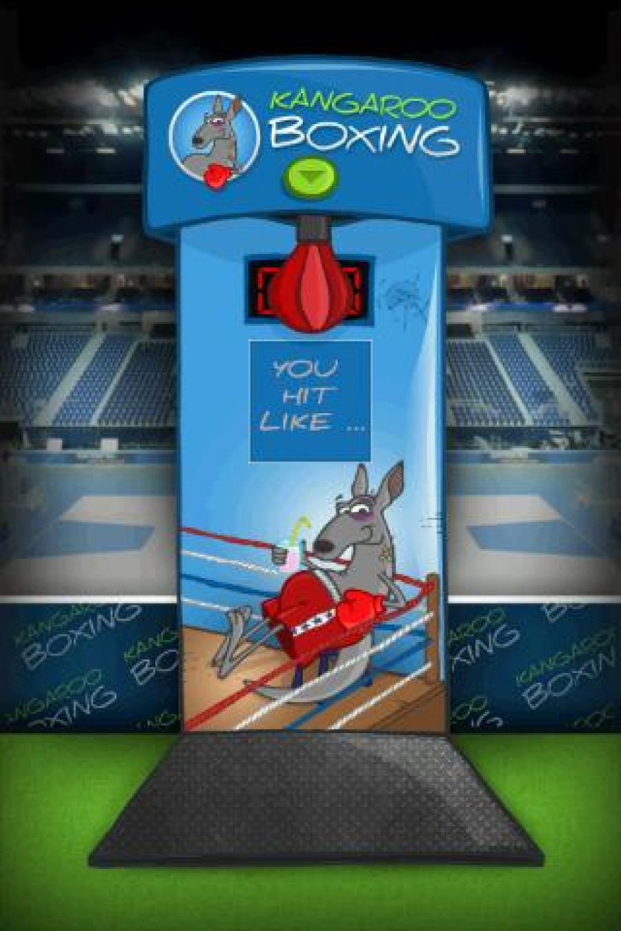 Boxing Machine - Punch Meter