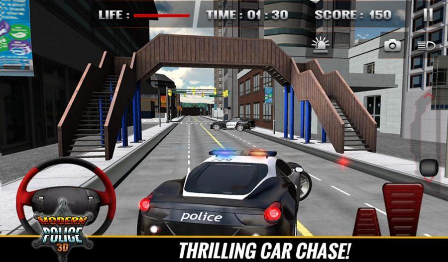 Grand vols de Police Car Zoute