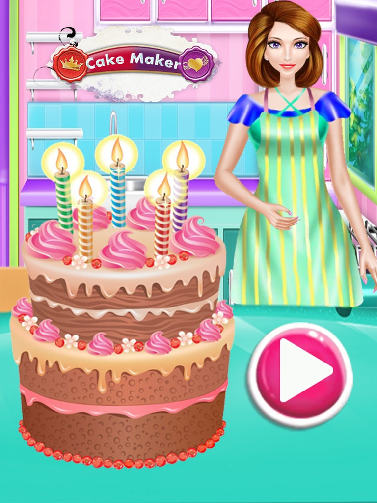 Groovy Cake Maker Cooking Games My Bakery Android Laab Apk Com Funny Birthday Cards Online Eattedamsfinfo