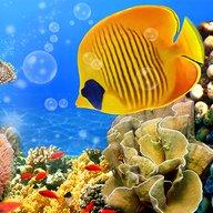 Акваріум Живі Шпалери ? Рибки Анімаційні Обої