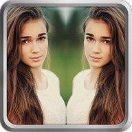 Ayna Efekti ile Selfie & Resim & Fotoğraf Düzenle