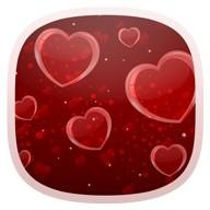 Delicate Hearts Free Live Wallpaper