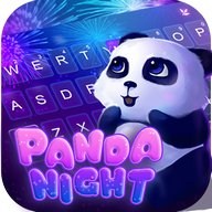 Panda Night Tema de teclado