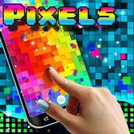 Pixels live wallpaper