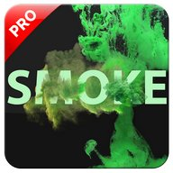 Smoke Effect Name Art Pro