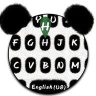 Nuevo tema de teclado Cute Panda
